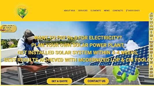 Website from Dynamic website