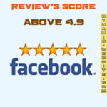 Facebook review rating score