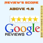 Google review rating score