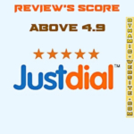 Justdial review rating score