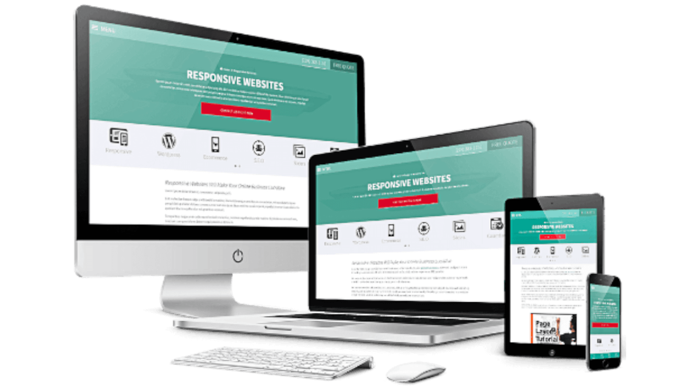 Responsive website design development services